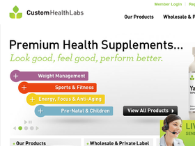 Custom Health Labs Coupons