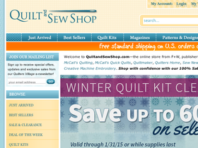 Quilt and Sew Shop Coupons