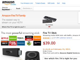 Amazon Fire TV Coupons