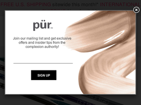 Pur Cosmetics Coupons
