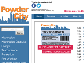 Powder City Coupons