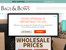 Bags & Bows Coupons