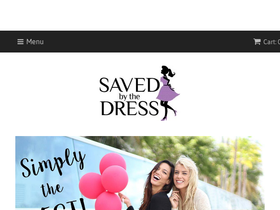 Saved by the dress coupon code