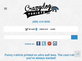 Crazy Dog T-Shirts Coupons