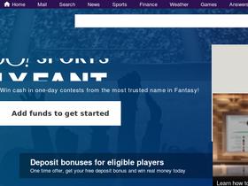 Yahoo Daily Fantasy