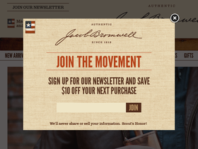 Jacob Bromwell Coupons