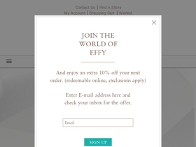 Effy Jewelry Coupons