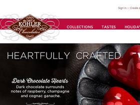 Kohler Chocolates Coupons