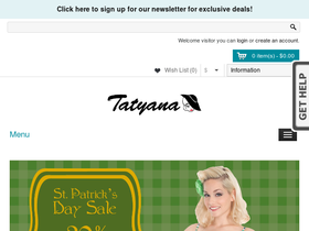 Tatyana Coupons