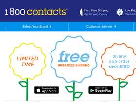 1 800 Contacts Screenshot