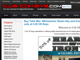 CJ's CD Keys Coupons