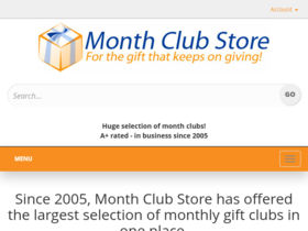 Month Club Store Coupons
