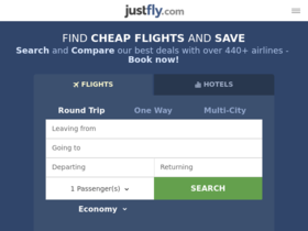 JustFly Coupons