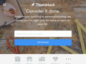 Thumbtack Coupons