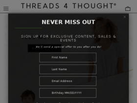 Threads For Thought Coupons