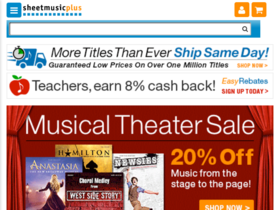 SheetMusicPlus Coupons