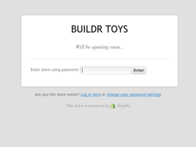 Buildr Toys Coupons