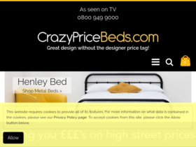 Crazy Price Beds Coupons