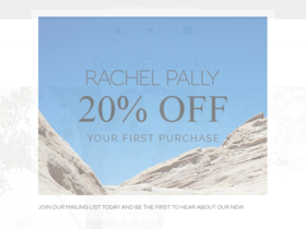 Rachel Pally Coupons