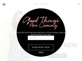 Ali & Jay Coupons