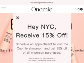 Onomie Coupons