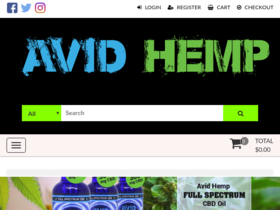 Avid Hemp Coupons