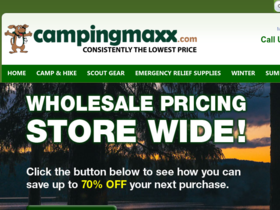 CampingMaxx Coupons
