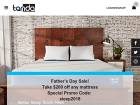 Tanda Sleep Coupons
