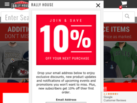 Rally House Coupons
