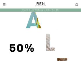 Ren Skincare Coupons