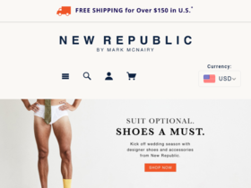 New Republic Coupons