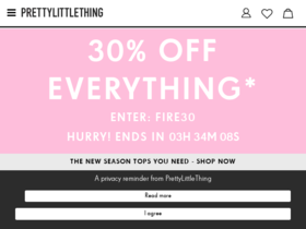 Pretty Little Thing Coupons
