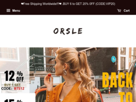 ORSLE Coupons