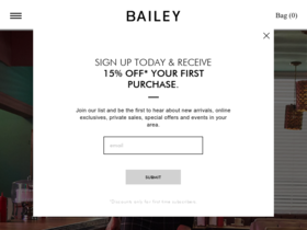 Bailey 44 Coupons