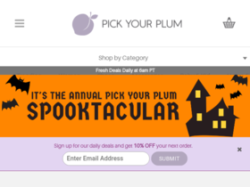 Pick Your Plum Coupons
