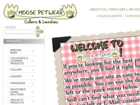 Moose Petwear Coupons