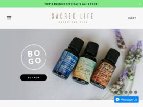 Sacred Life Oils Coupons