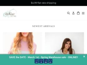 noVae Clothing Coupons