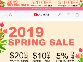 Ladyfas Coupons