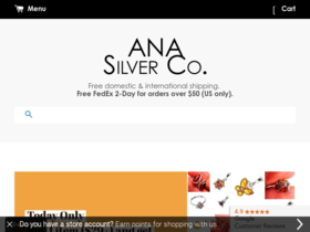 Ana Silver Co Coupons