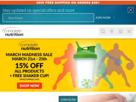 Complete Nutrition Coupons