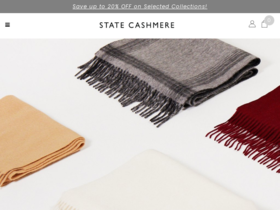 State Cashmere Coupons